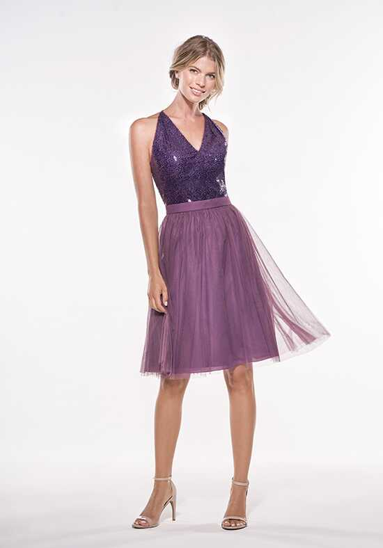 JASMINE P196013K V-Neck Bridesmaid Dress
