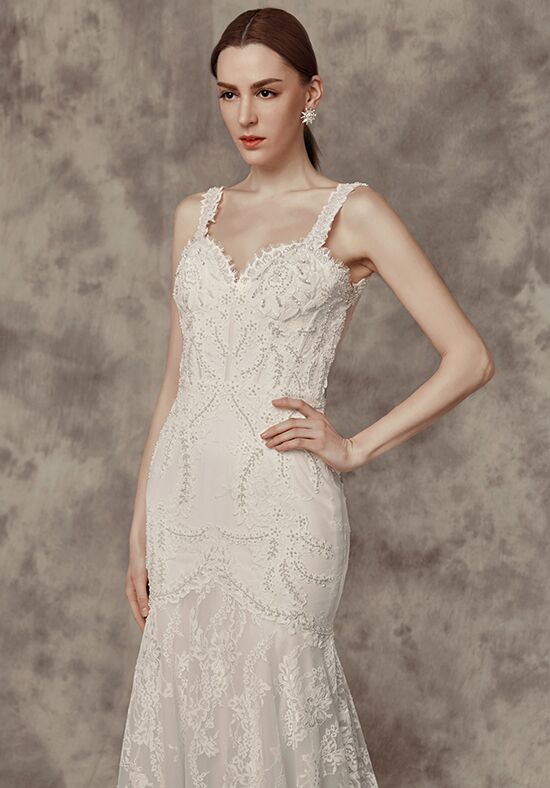Calla Blanche 16251 Liana Sheath Wedding Dress