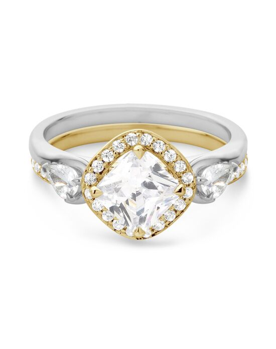 Laurence Bruyninckx Cushion Cut Engagement Ring