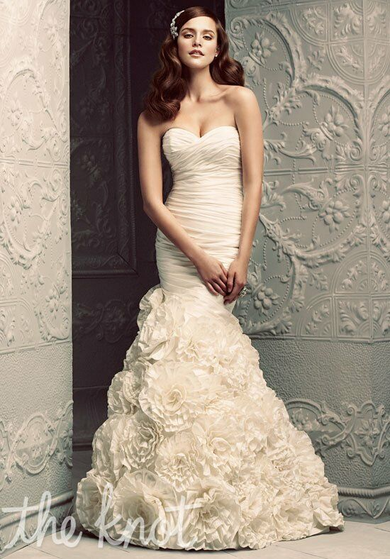 Paloma Blanca 4202 Mermaid Wedding Dress