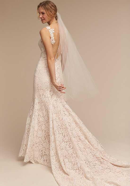Mermaid wedding dresses for Veil for champagne wedding dress