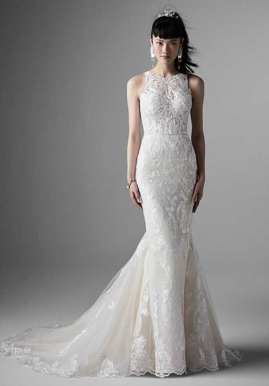 Halter Wedding Dresses The Knot