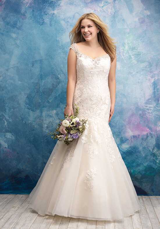Allure Women W433 Mermaid Wedding Dress