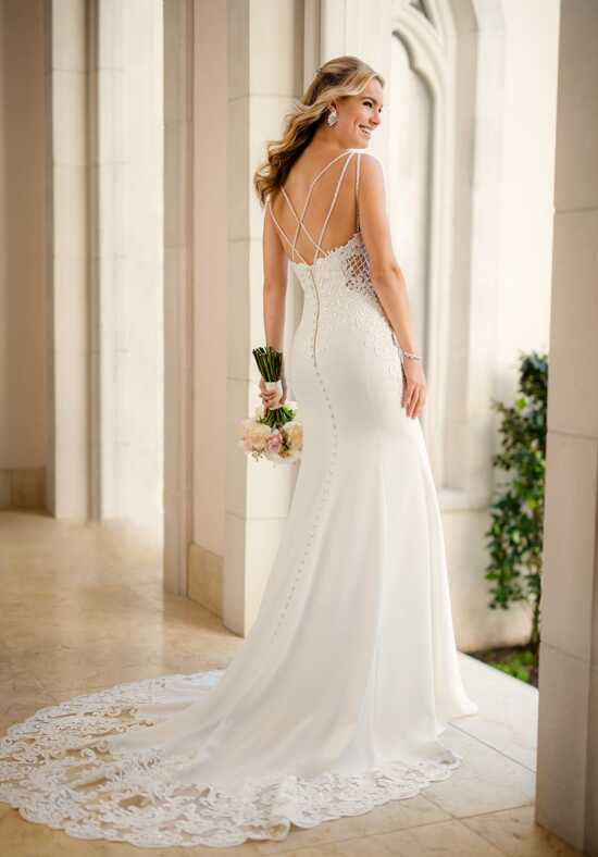 Stella York 6586 Sheath Wedding Dress