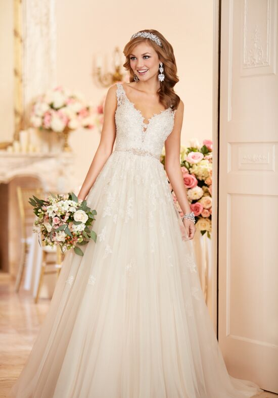 Stella York 6291 A-Line Wedding Dress