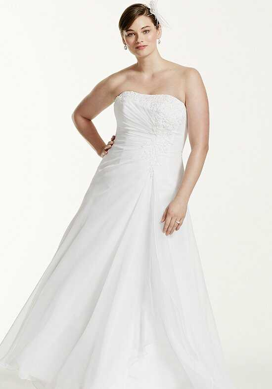 David's Bridal David's Bridal Woman Style 9V9409 A-Line Wedding Dress