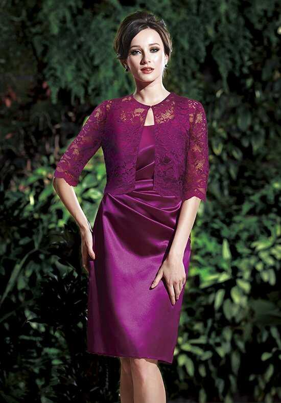 Jasmine Black Label M160013 Purple Mother Of The Bride Dress