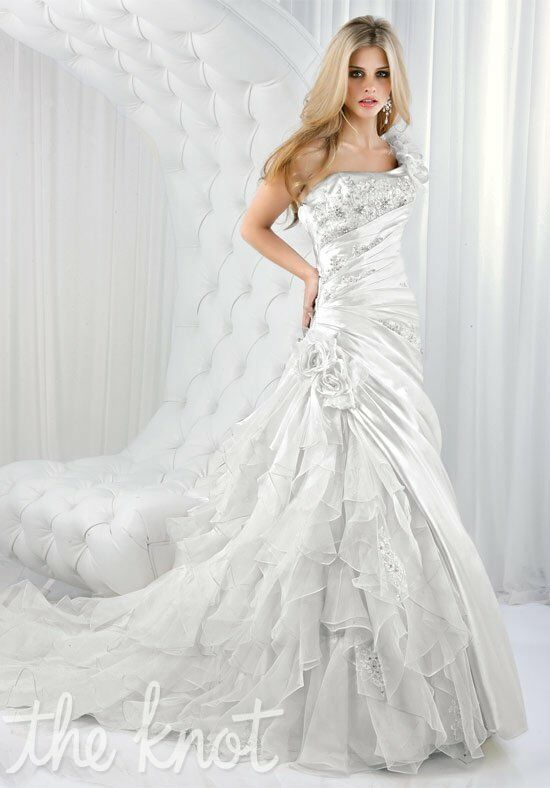 Impression Bridal 10096 A-Line Wedding Dress