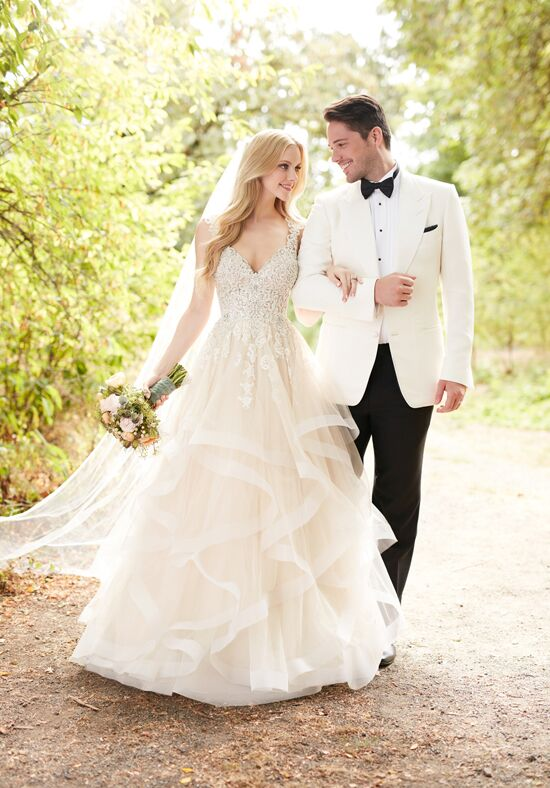 Martina Liana 885 A-Line Wedding Dress