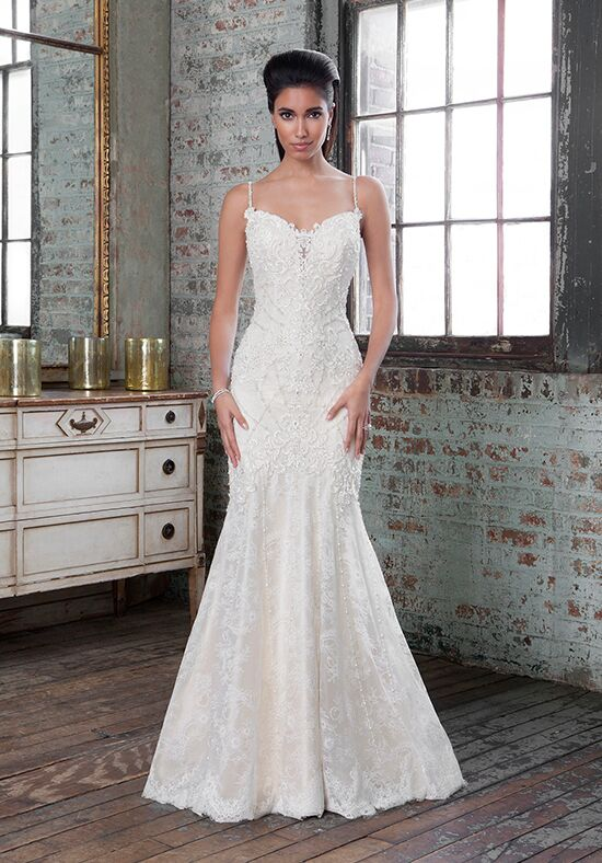 Justin Alexander Signature 9819 Sheath Wedding Dress