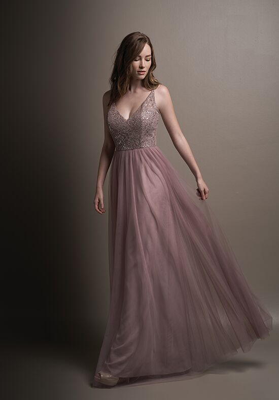 Belsoie L194001 V-Neck Bridesmaid Dress