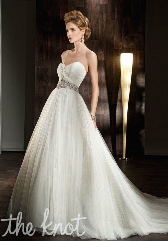 Demetrios 532 A-Line Wedding Dress
