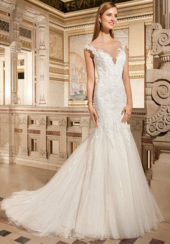 Demetrios 1490 Mermaid Wedding Dress