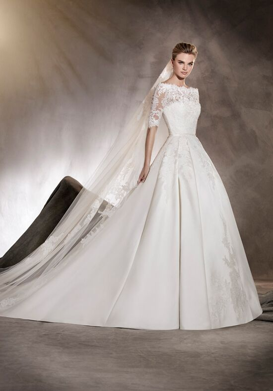 PRONOVIAS ALBASARI Ball Gown Wedding Dress