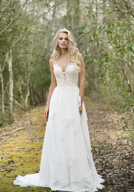 Lillian West 6449 A-Line Wedding Dress