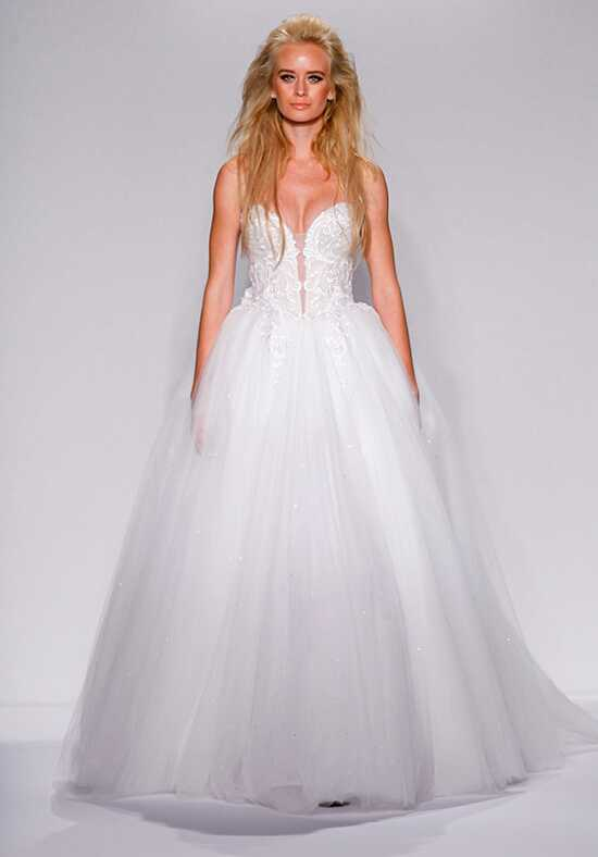 Pnina Tornai for Kleinfeld 4438 Ball Gown Wedding Dress