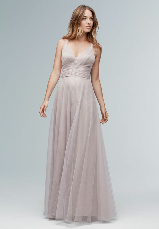 Wtoo Maids 142i V-Neck Bridesmaid Dress