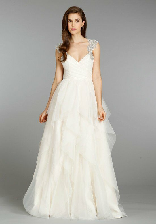 Hayley Paige 6350 - Carrie A-Line Wedding Dress