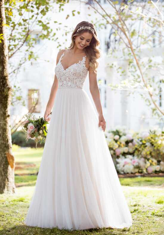Stella York 6555 A-Line Wedding Dress