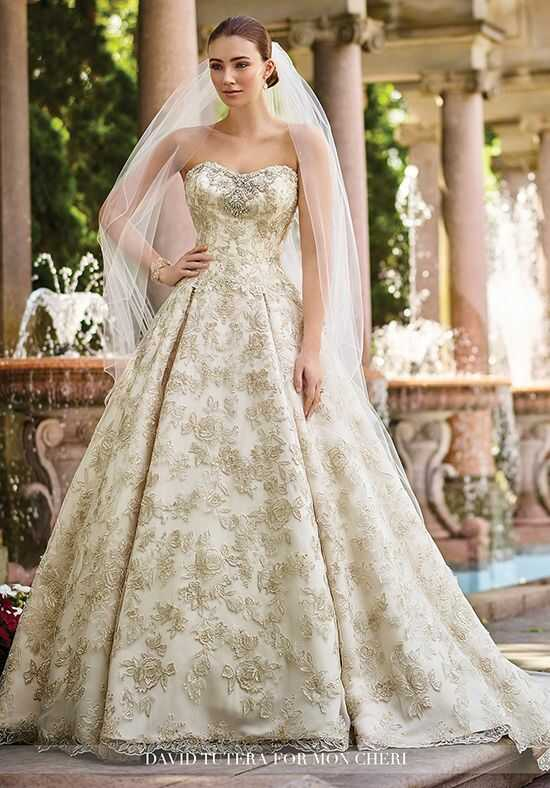 Martin Thornburg a Mon Cheri Collection 117274 Gilda Ball Gown Wedding Dress