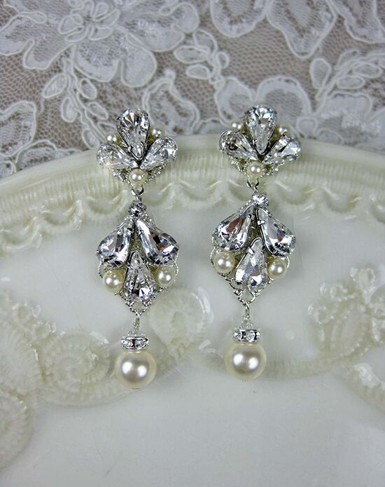 Everything Angelic Abbey Earrings - e319 Wedding Earring photo