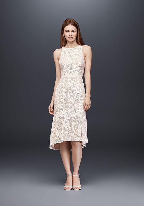 David's Bridal Short Black Dress