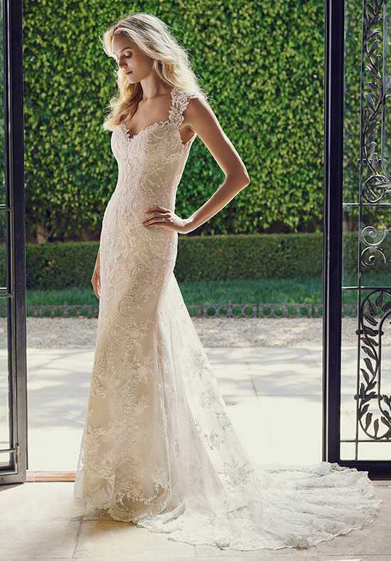 Casablanca Bridal 2232 Tulip Sheath Wedding Dress