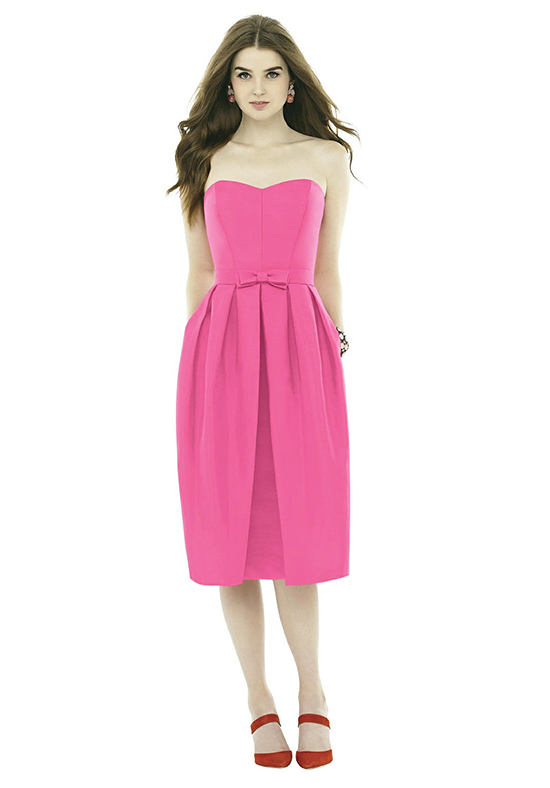 Alfred Sung D717 Sweetheart Bridesmaid Dress