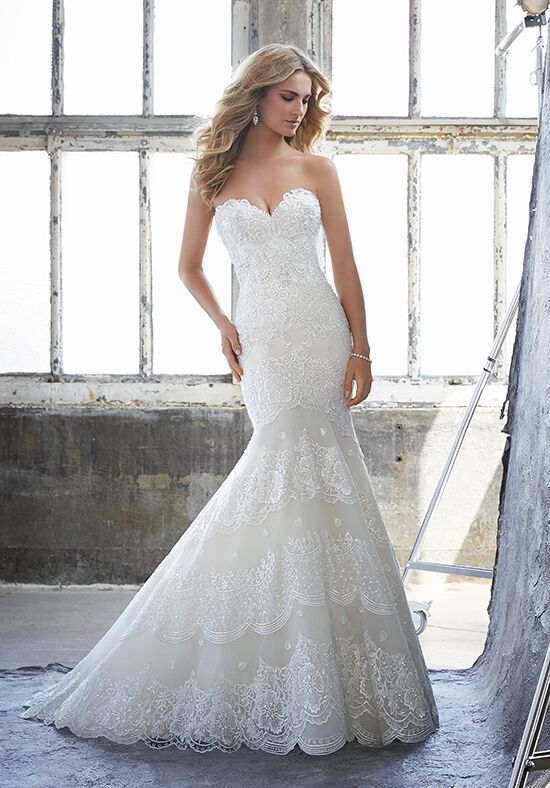 Morilee by Madeline Gardner Khloe/ 8216 Mermaid Wedding Dress