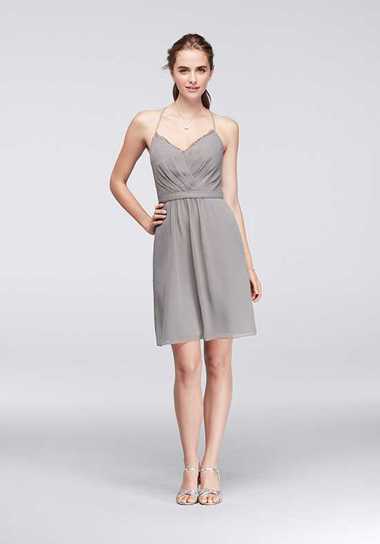 David's Bridal Collection David's Bridal Style F19440 V-Neck Bridesmaid Dress