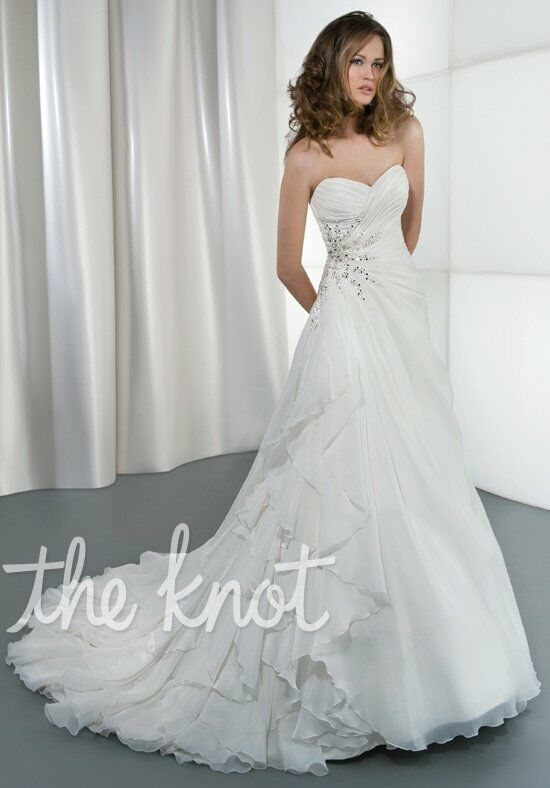 Demetrios 3185 A-Line Wedding Dress