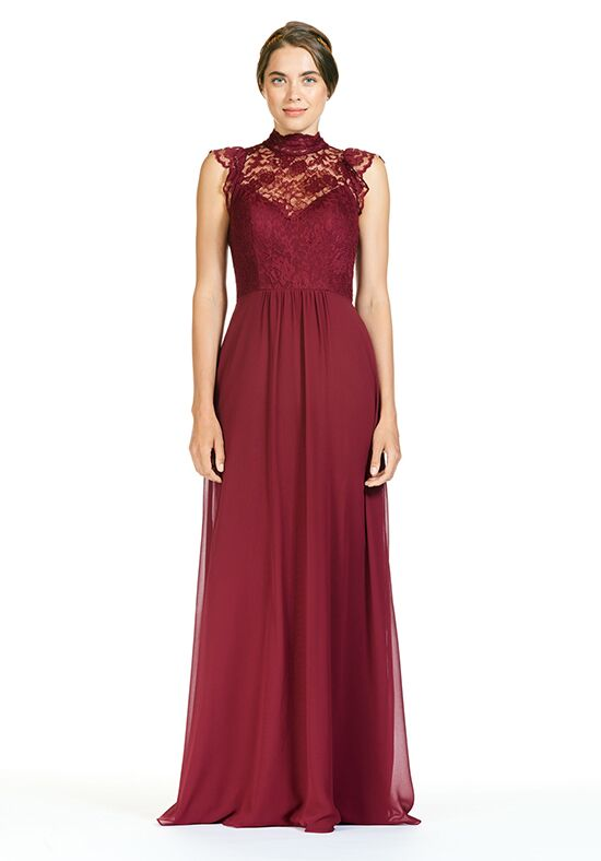 Bari Jay Bridesmaids BC-1800 Illusion Bridesmaid Dress