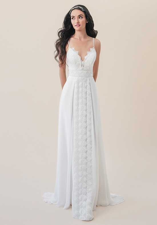 Moonlight Tango T830B A-Line Wedding Dress
