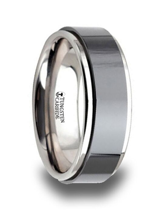 Mens Tungsten Wedding Bands W643-RBTC Tungsten Wedding Ring