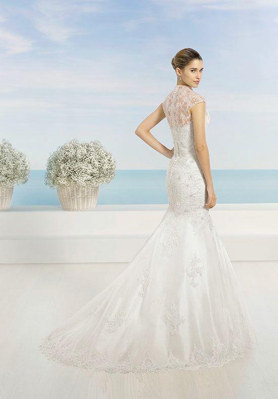Wedding Dresses  Luna : Luna novias tulipan wedding dress the knot