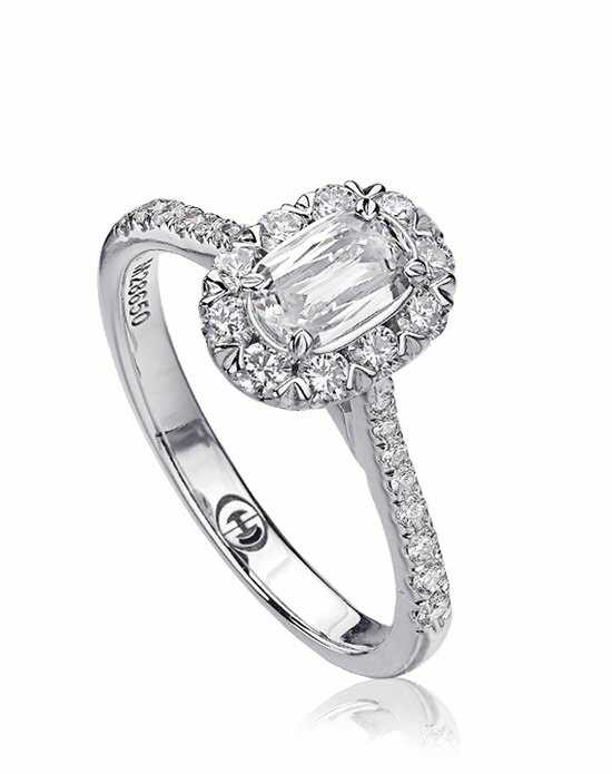 L'Amour Crisscut Cut Engagement Ring