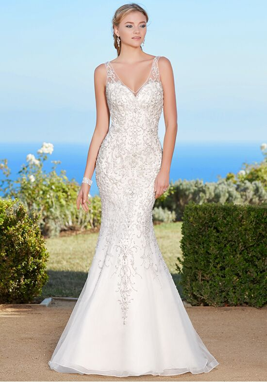 KITTYCHEN Couture NAVEAH, K1747 Sheath Wedding Dress