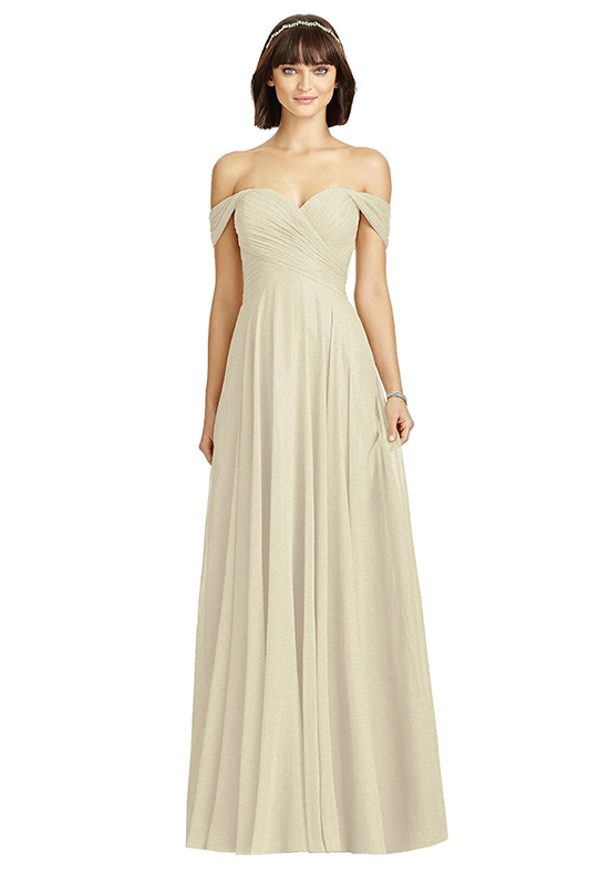 Dessy Collection 2970 Off the Shoulder Bridesmaid Dress