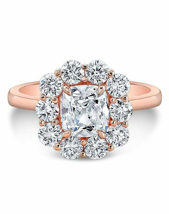 Forevermark Diamonds Cushion Cut Engagement Ring