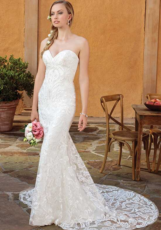 Casablanca Bridal 2326 Darby Mermaid Wedding Dress
