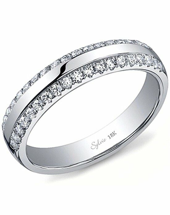 Since1910 SY736B White Gold Wedding Ring