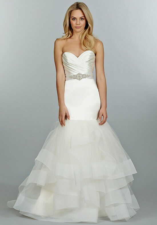 Tara Keely 2458 Mermaid Wedding Dress