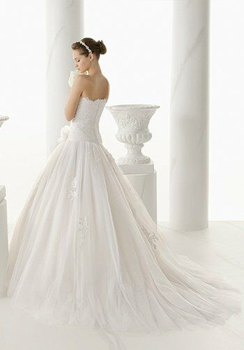 Alma Novia 120/NATACHA Ball Gown Wedding Dress