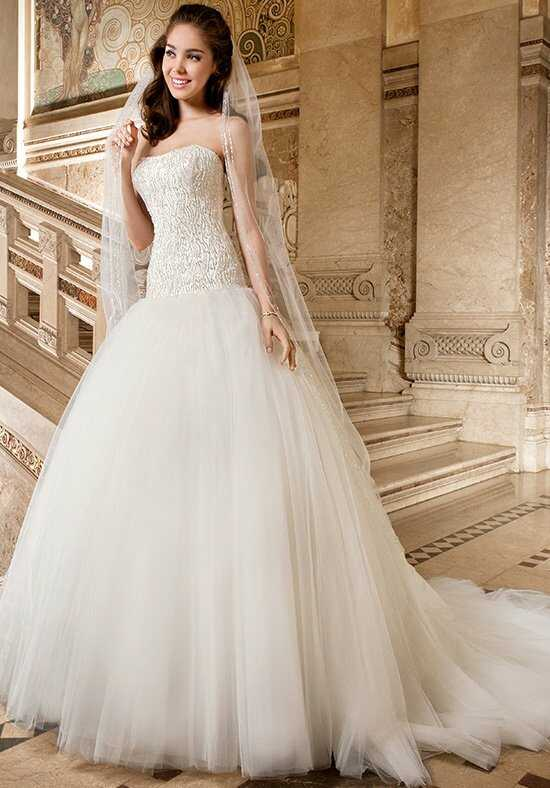 Demetrios 580 Ball Gown Wedding Dress