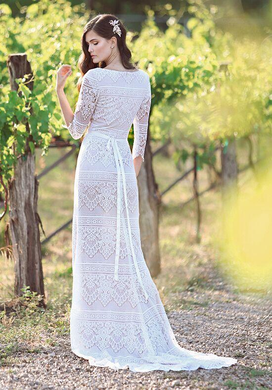 Modest By Mon Cheri Tr11840 Sheath Wedding Dress