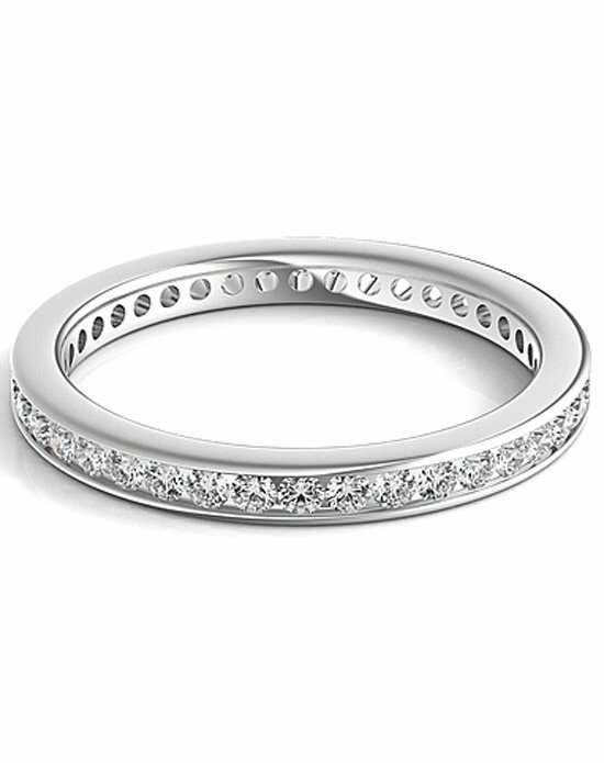 Since1910 SNTWB184D White Gold Wedding Ring