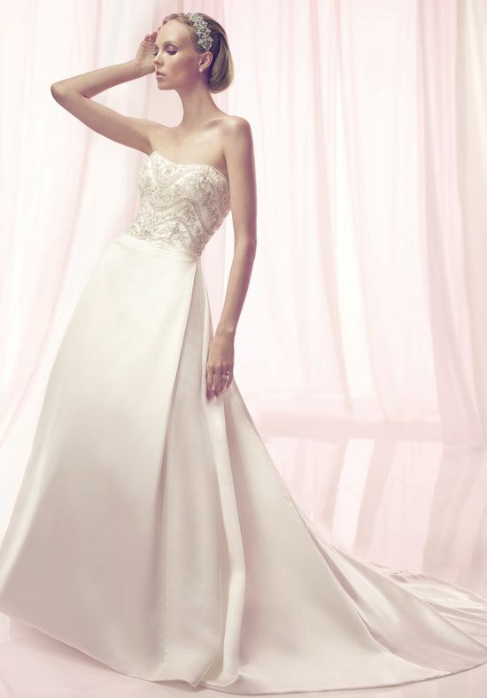 Amaré Couture by Crystal Richard B093 A-Line Wedding Dress