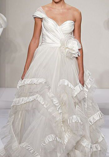 Pnina Tornai for Kleinfeld 4198 A-Line Wedding Dress