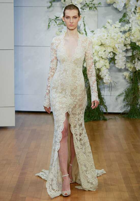 Monique Lhuillier Faith Sheath Wedding Dress