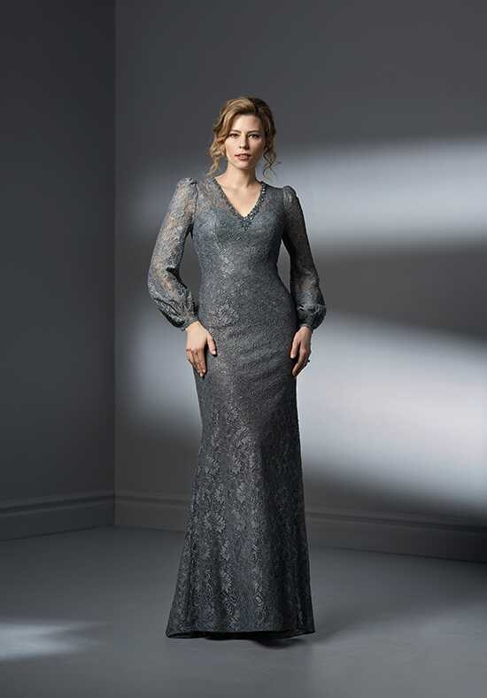 Jade Couture K198061 Silver Mother Of The Bride Dress